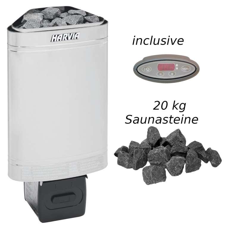 Harvia Saunaofen Delta EE 2,9 kW Elektroofen D29EE Saunaheizung Saunaheizgerät