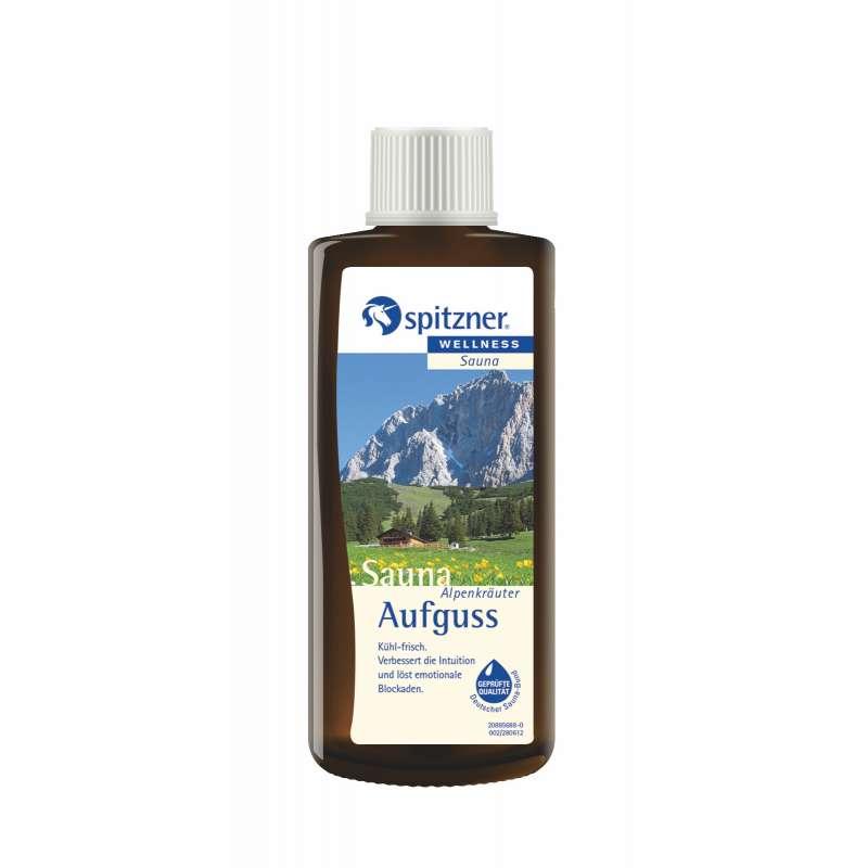 Spitzner Saunaaufguss Alpenkräuter 190 ml 8850063