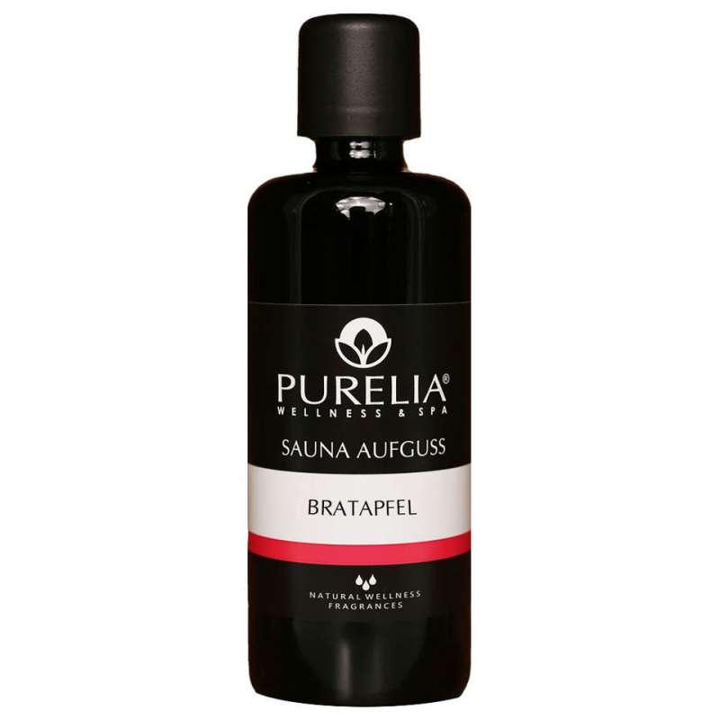 PURELIA Saunaaufguss Konzentrat Bratapfel 100 ml natürlicher Sauna-aufguss - reine ätherische Öle