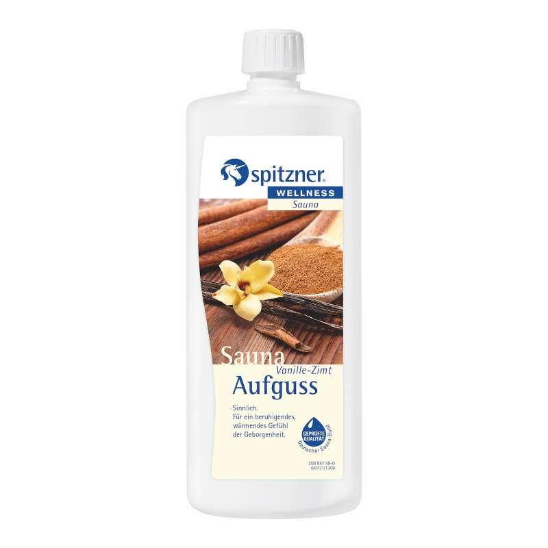 Spitzner Saunaaufguss Vanille-Zimt 1 Liter (1000 ml) Wellness Konzentrat 8850098