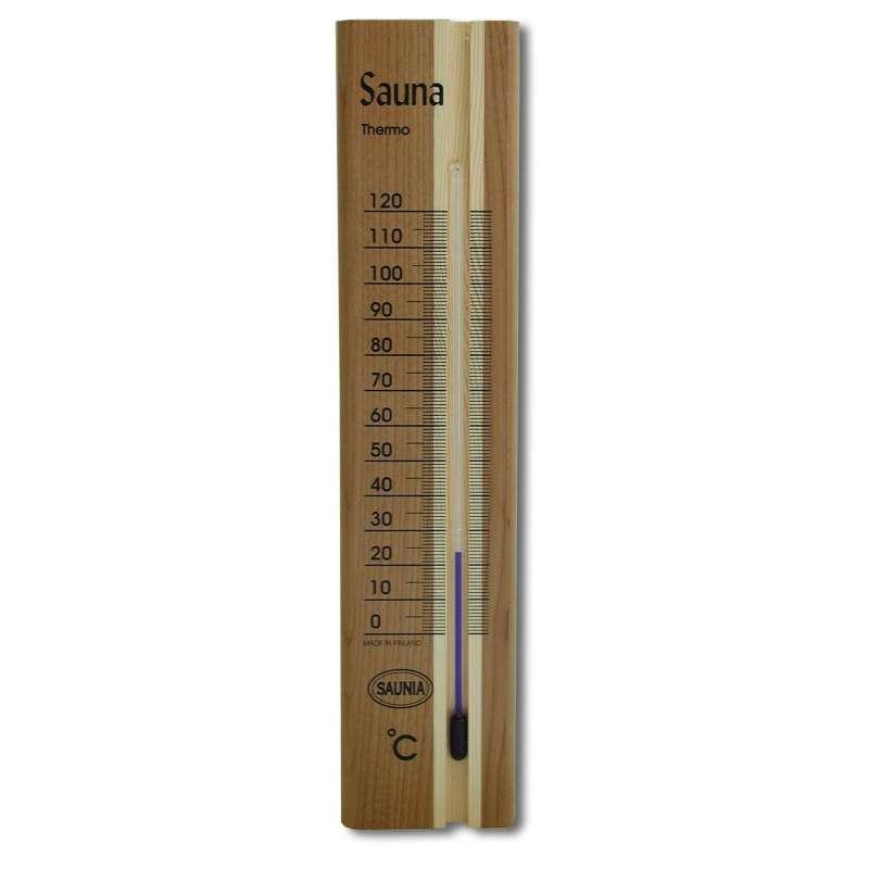 Nikkarien Sauna Thermometer wärmebehandeltes Kiefer Holz 460L