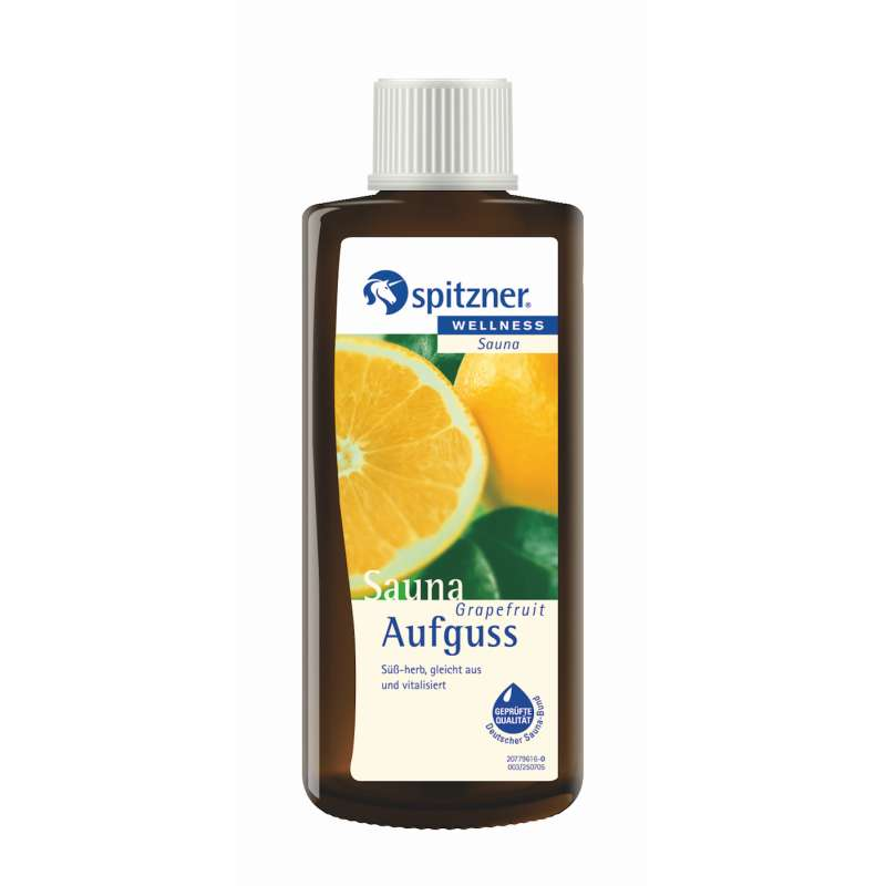 Spitzner Saunaaufguss Grapefruit 190 ml 7792075