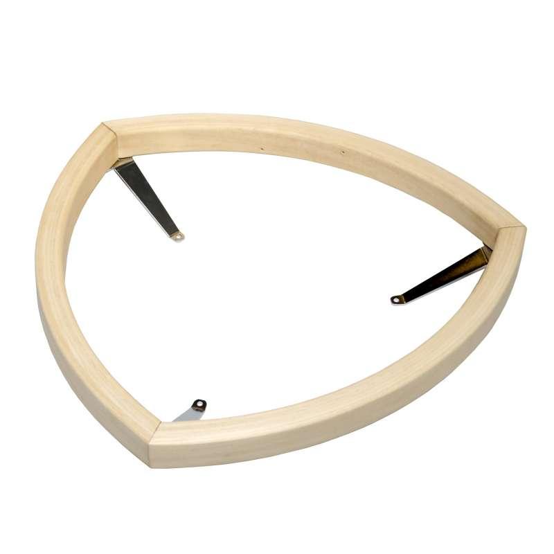 Harvia HPI2 Schutzgeländer Holzgeländer Zubehör für Saunaofen Kivi