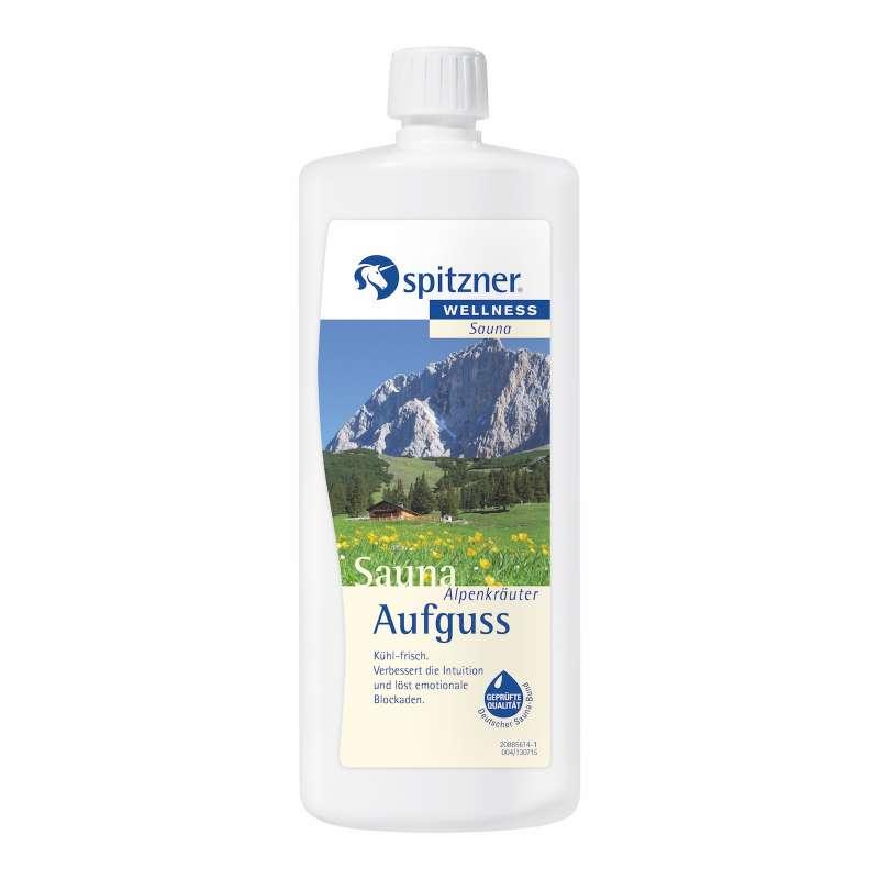 Spitzner Saunaaufguss Alpenkräuter 1 Liter 8850004