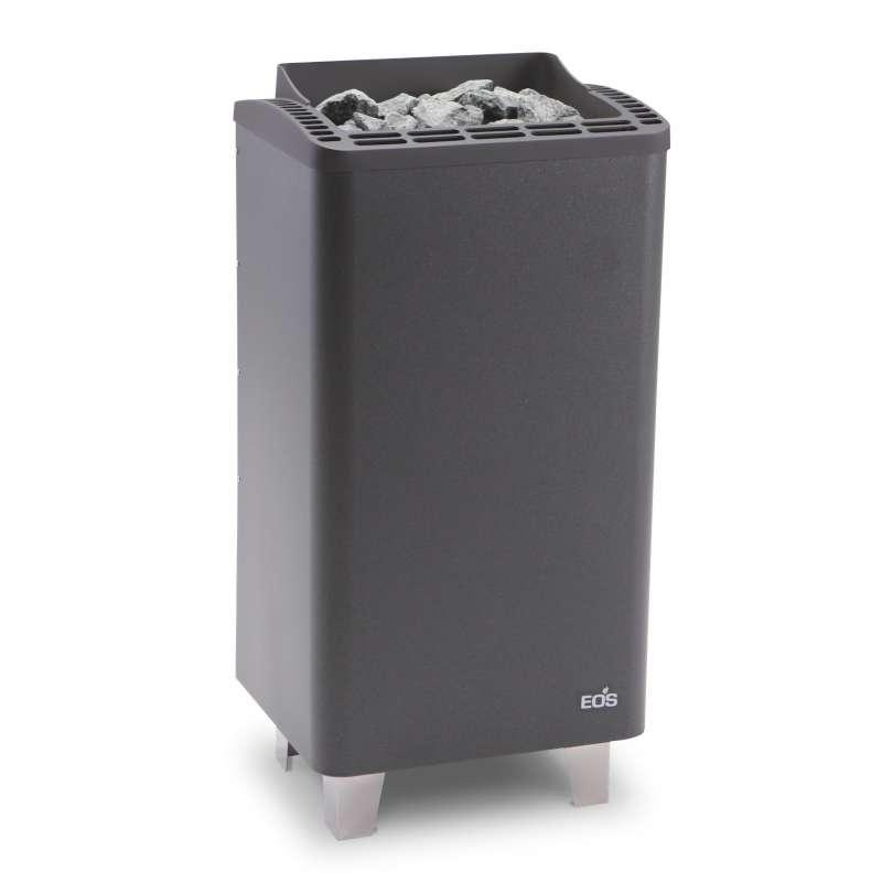Eos Classic Saunaofen Standofen Thermo Tec S 6 kW anthrazit perleffekt 94.5684