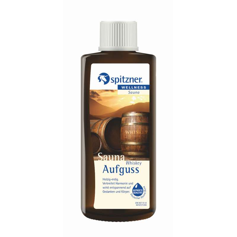 Spitzner Saunaaufguss Whiskey 190 ml Wellness Konzentrat 8850100