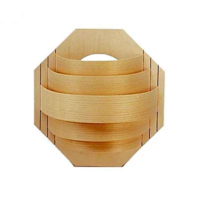 Infraworld Holzblendschirm Standard Saunalampe Saunalicht Saunazubehör S2256