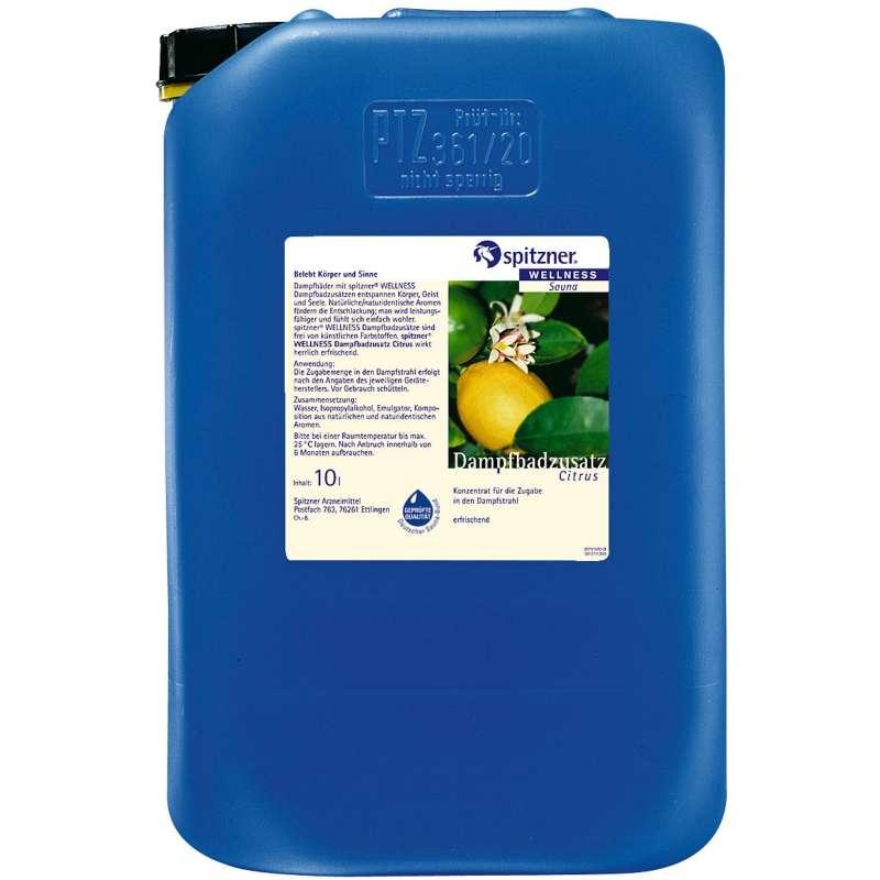 Spitzner Dampfbadzusatz 10 Liter Citrus 7912053
