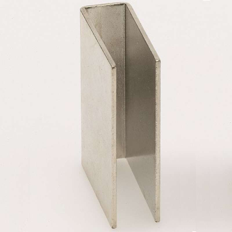 Infraworld Haftblech U - Form 6 mm für Saunatüren