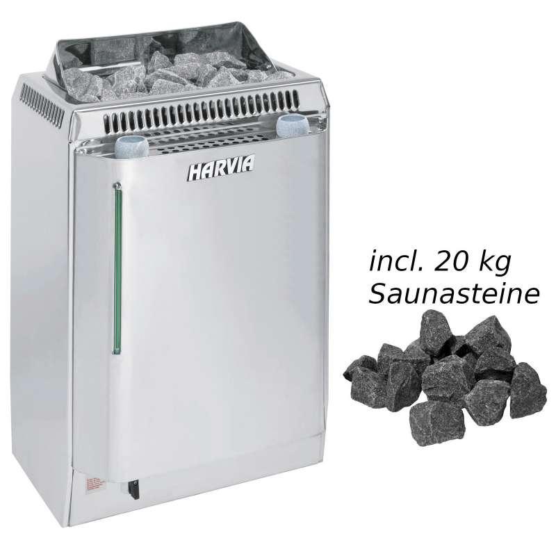 Harvia Saunaofen KV90SE Topclass Combi 9,0kW Elektroofen Biosaunaofen Verdampfer