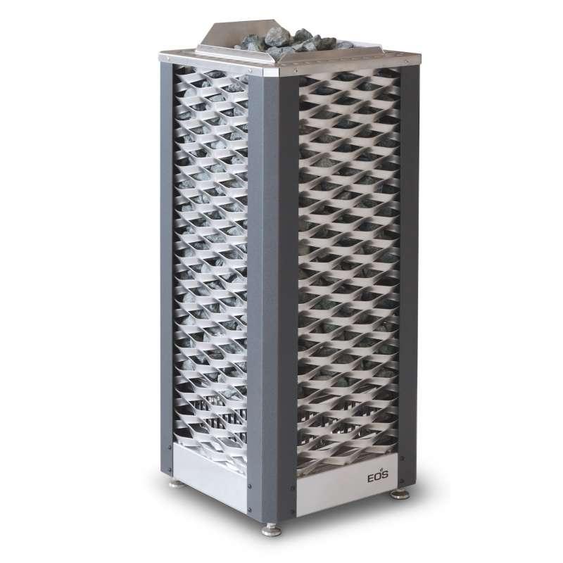 Eos Premium Saunaofen Standofen Saunadome II 15 kW anthrazit perleffekt 94.5605