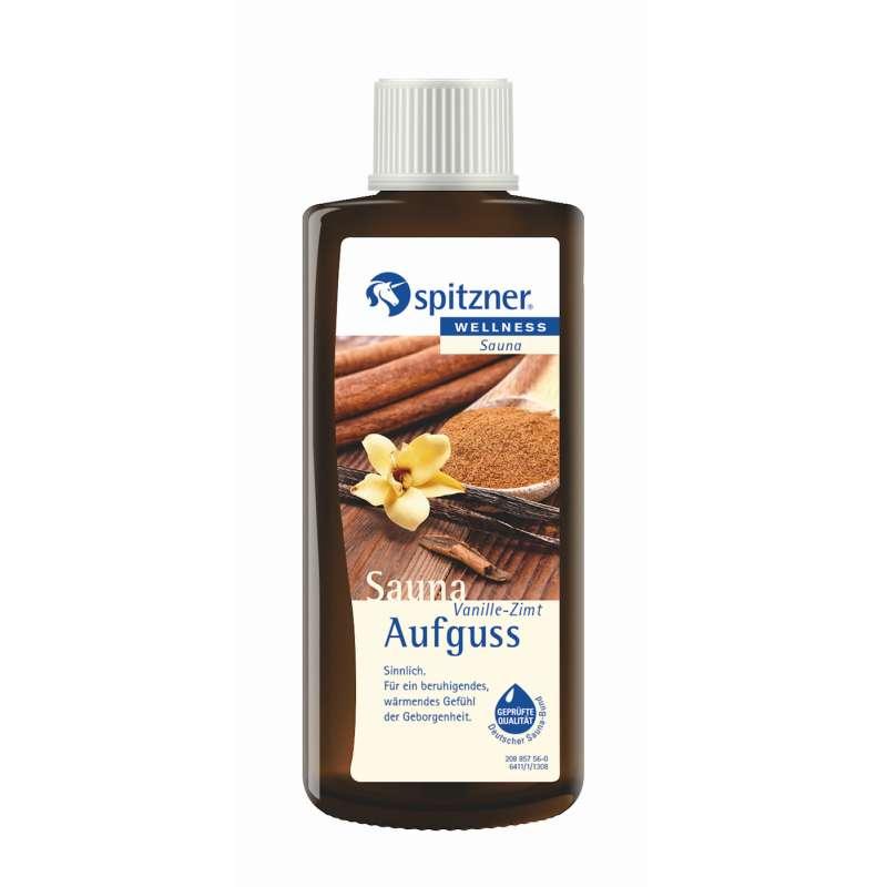 Spitzner Saunaaufguss Vanille-Zimt 190 ml Wellness Konzentrat 8850097