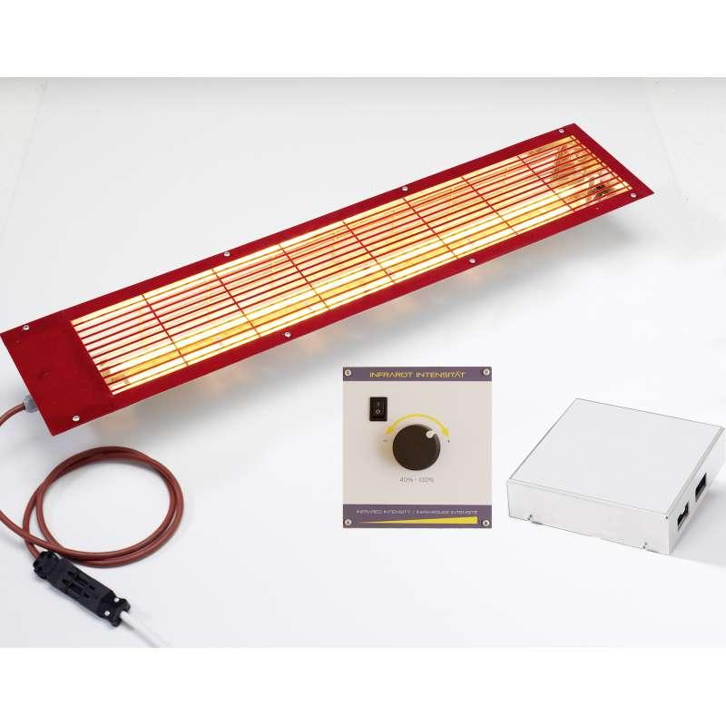 Infraworld VITALlight Infrarotstrahler Set Easy Control Strahler Steuerung B3398