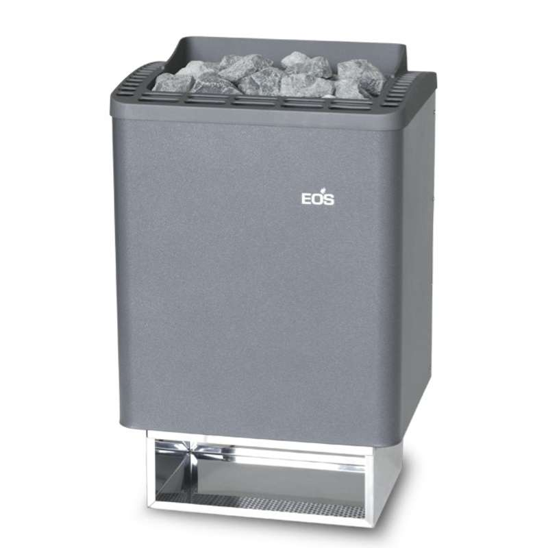 Eos Classic Saunaofen Wandofen Thermo Tec 7,5 kW anthrazit perleffekt 94.5689