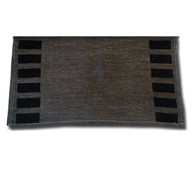 Nikkarien Sauna Sitztuch Karo 50 x 55 cm 439G