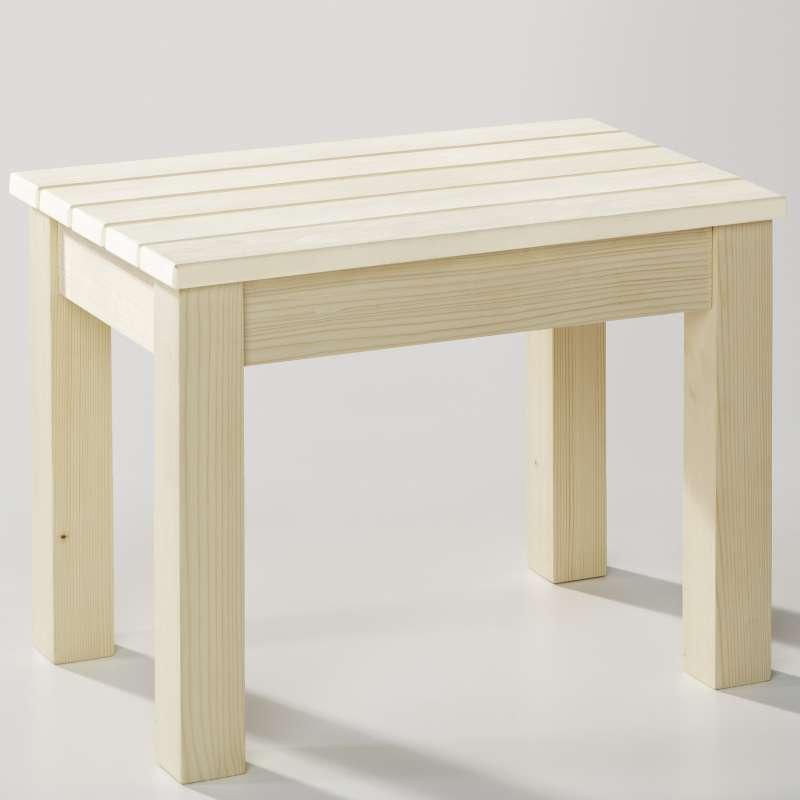 Infraworld Saunahocker Sitzfläche Espe Standfüße Fichte Saunazubehör B3413