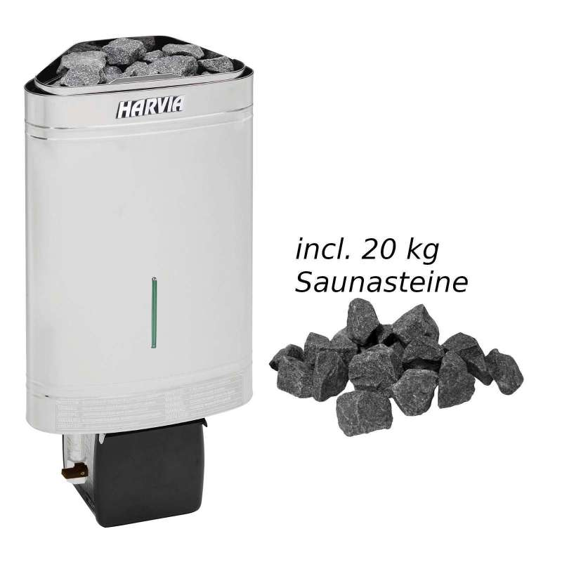 Harvia Saunaofen Delta Combi 2,9 kW Elektroofen D29SE Saunaheizung Bioofen