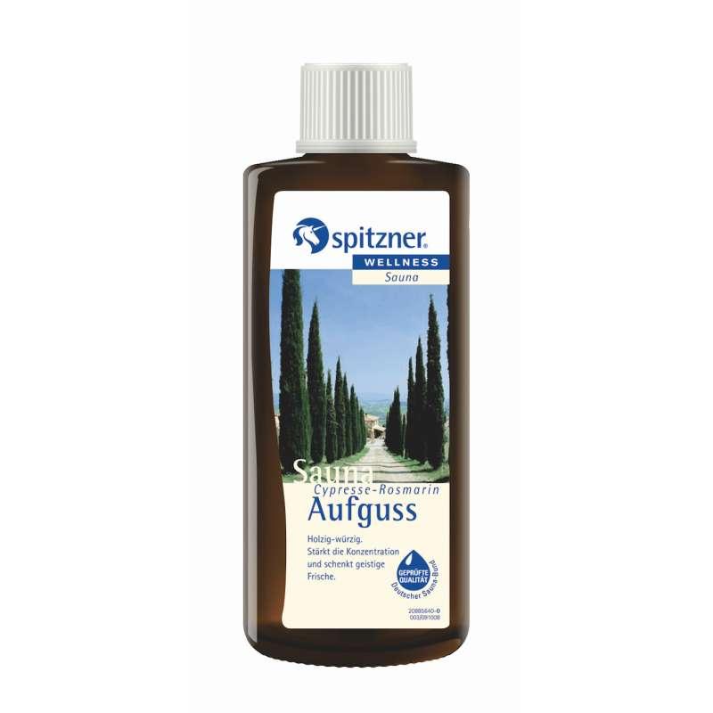 Spitzner Saunaaufguss Cypresse Rosmarin 190 ml 8850021