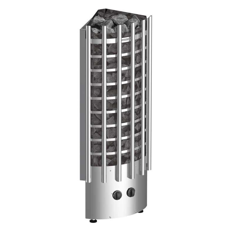 Harvia Saunaofen Glow Corner 6,8 kW Elektroofen mit eingebauter Steuerung TRC70