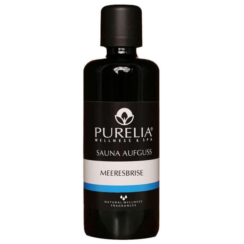 PURELIA Saunaaufguss Konzentrat Meeresbrise 100 ml natürlicher Sauna-aufguss - reine ätherische Öle