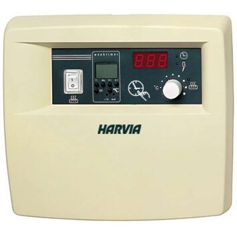 Harvia C260-20 Saunasteuerung max. 22 kW Steuergerät Saunabedienung inkl. Temperaturfühler