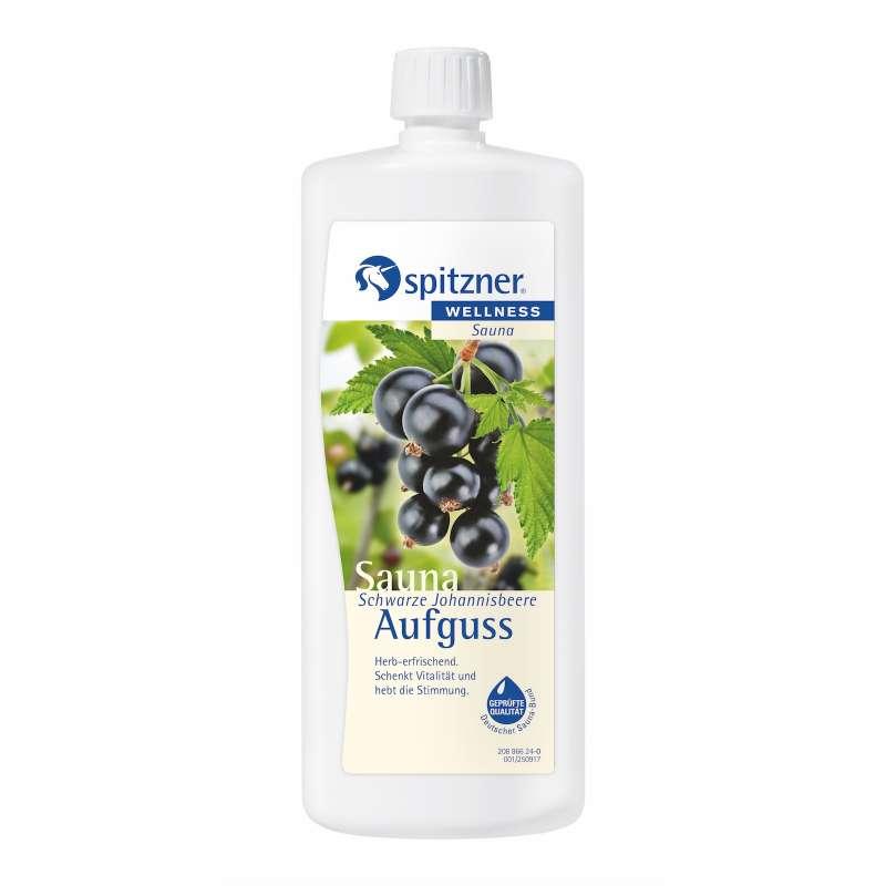 Spitzner Saunaaufguss Schwarze Johannisbeere 1 Liter (1000 ml) Konzentrat 8850095