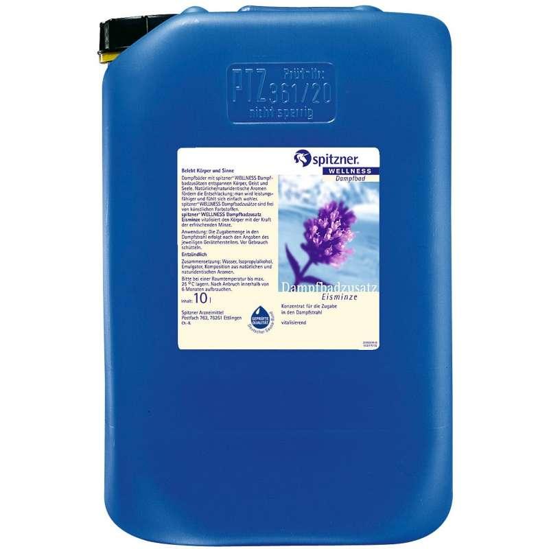 Spitzner Dampfbadzusatz 10 Liter Eisminze 8922053