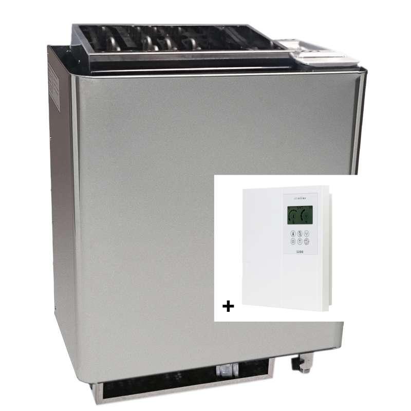 Infraworld Saunaofen Verdampfer Bi O Mat 9 kW inkl. Steuerung Saunacontrol A0