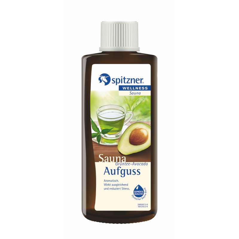 Spitzner Saunaaufguss Grüntee Avocado 190 ml Konzentrat 8850074