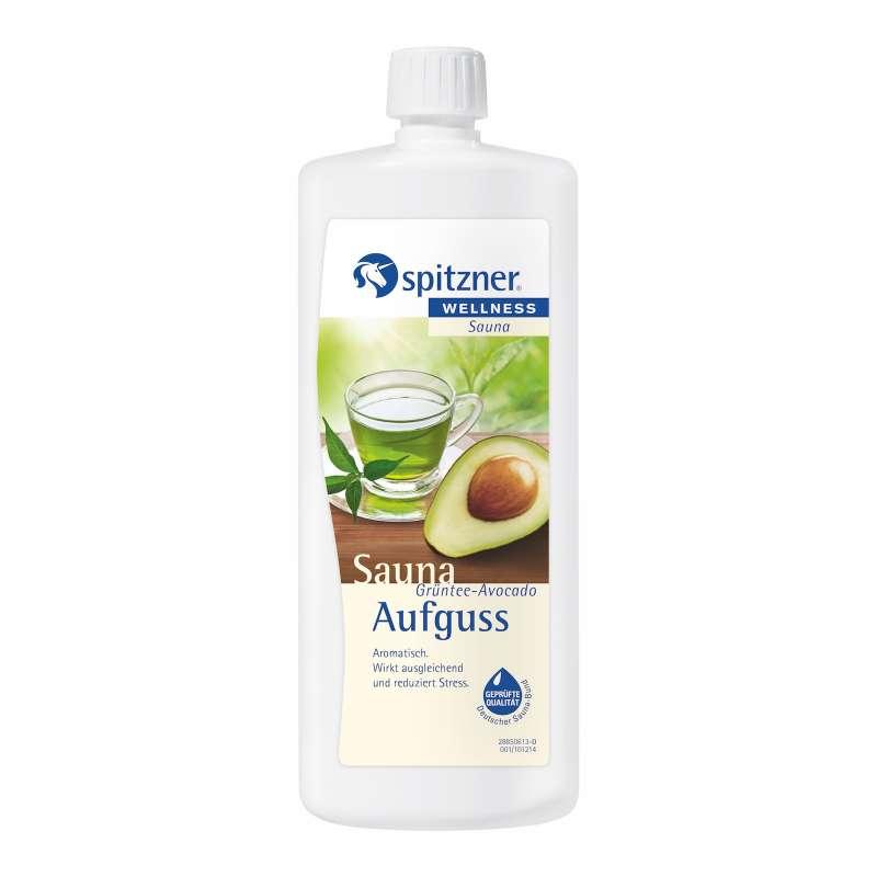 Spitzner Saunaaufguss Grüntee Avocado 1 Liter (1000 ml) Konzentrat 8850075