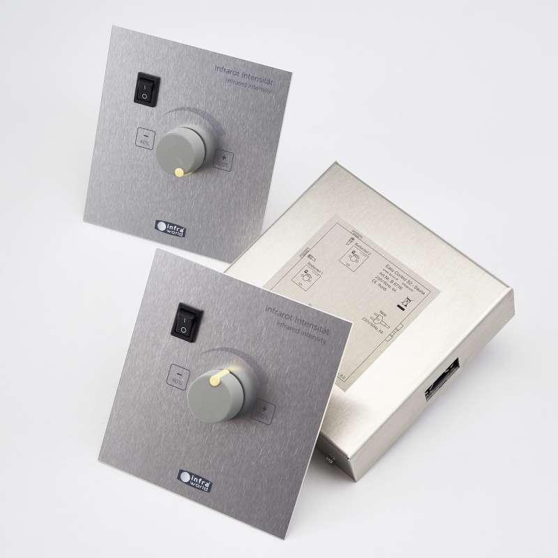 Infraworld Steuerung Easy Control 2 Sauna für Sauna und Infrarotkabinen B6716