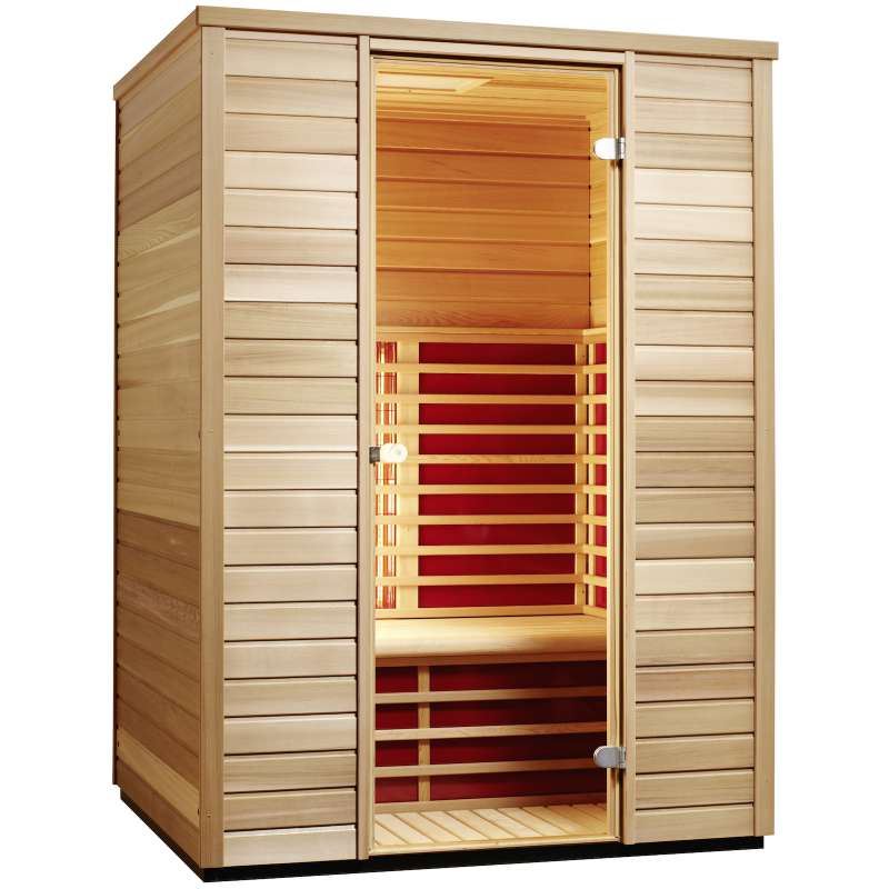Infraworld TrioSol Cedar 145 Infrarotkabine Wärmekabine Größe 145x110 cm 390101