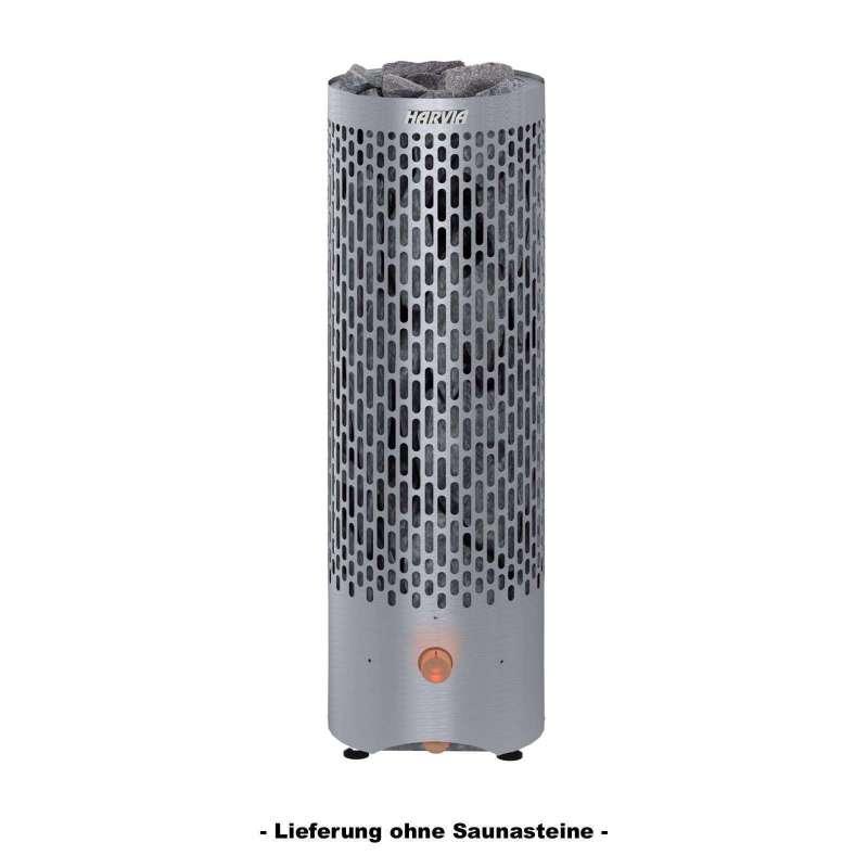 Harvia Saunaofen Cilindro Plus PP70 6,8 kW mit beleuchtetem Bedienungsschalter