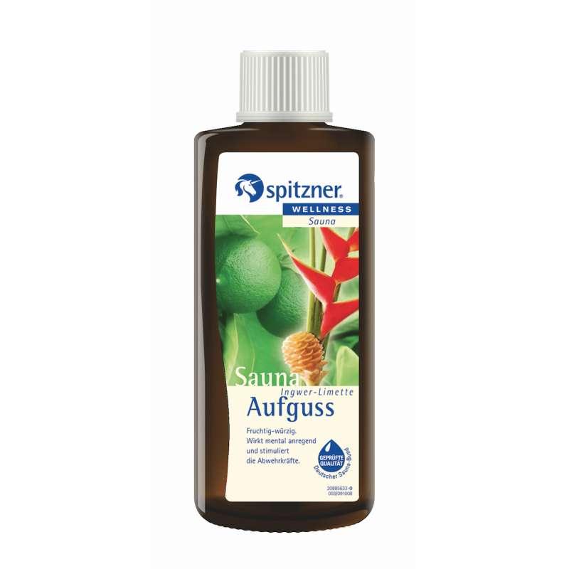 Spitzner Saunaaufguss Ingwer Limette 190 ml 8850017