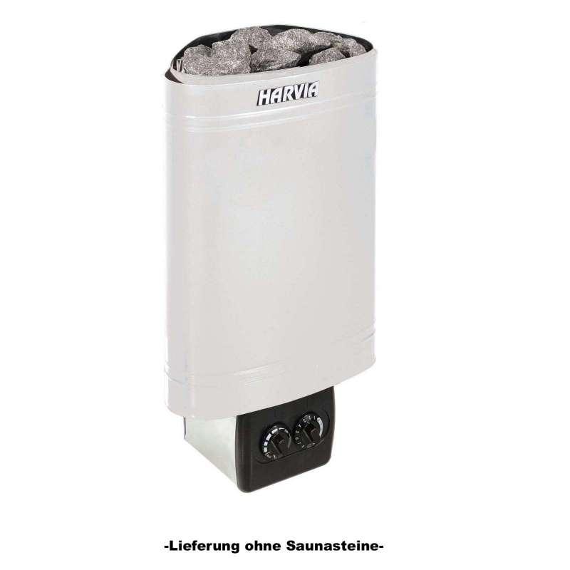 Harvia Saunaofen Delta 3,6 kW Elektroofen D36 mit integrierter Steuerung