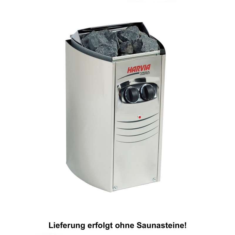Harvia Saunaofen Vega Compact 2,3 kW Elektroofen BC23 Saunaheizung