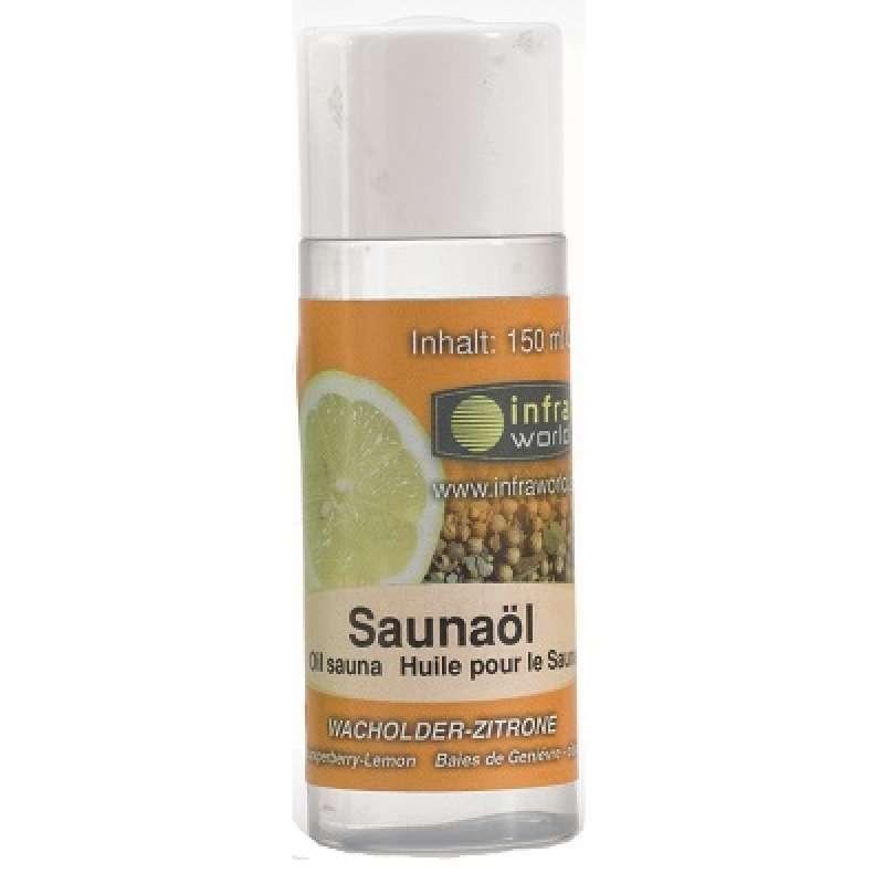 Infraworld Saunaöl Wacholder Zitrone Saunaaufguss Saunaduft 150 ml S2263-2