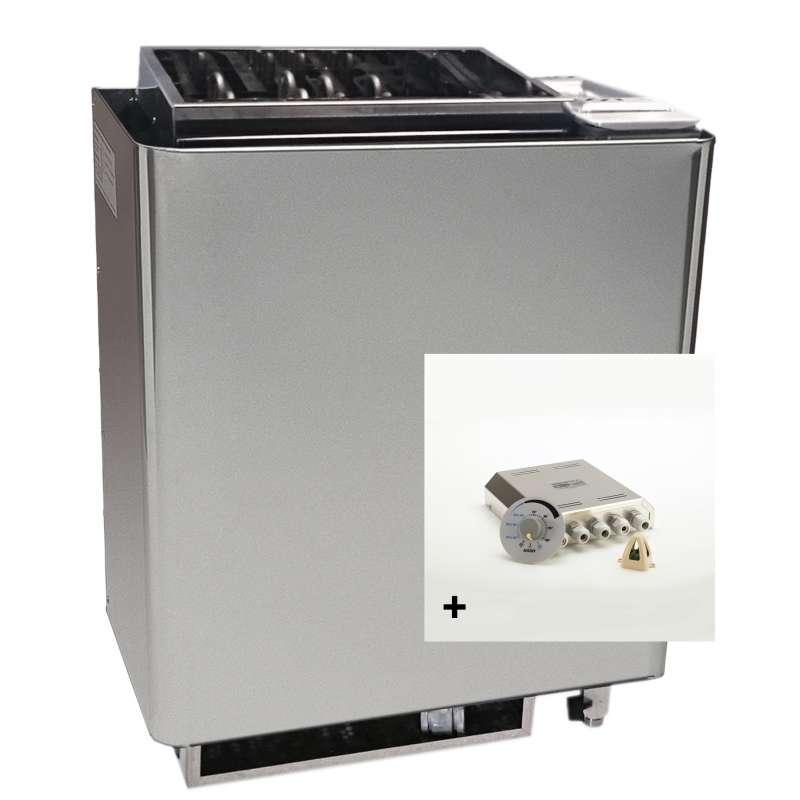 Infraworld Saunaofen Verdampfer Bi O Mat 7,5 kW inkl. Steuerung Saunacontrol X0