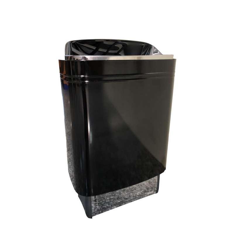 Harvia Top Steel 6,0 kW Saunaofen Elektrosaunaofen schwarz ohne Steine M60EBLACK