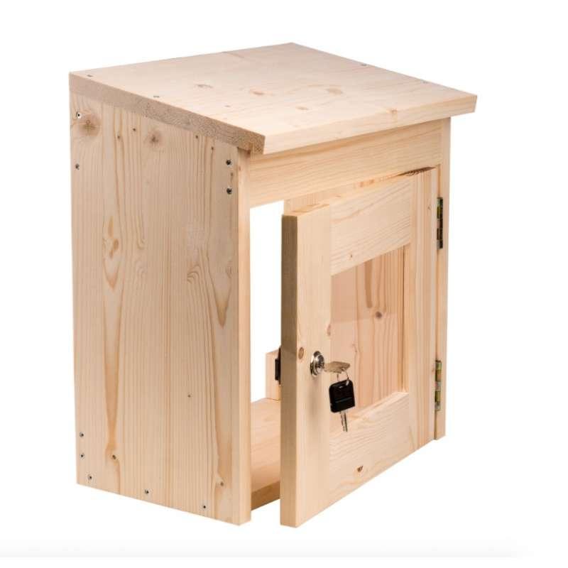 Sentiotec Schutzkasten für Saunasteuerung Schutz für Sauna Steuerung verschließbar