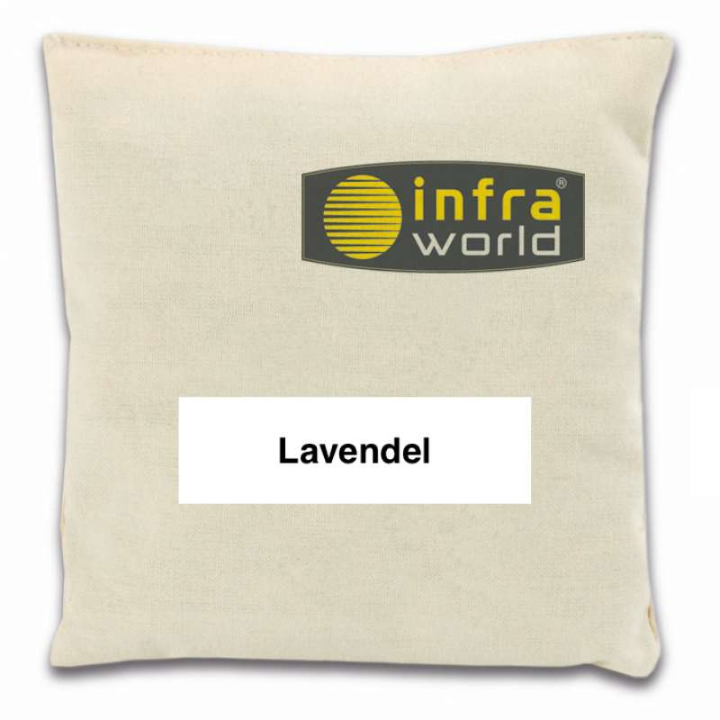 Infraworld Duftkissen Lavendel Kräuterkissen Saunazubehör Biosauna S2275-1