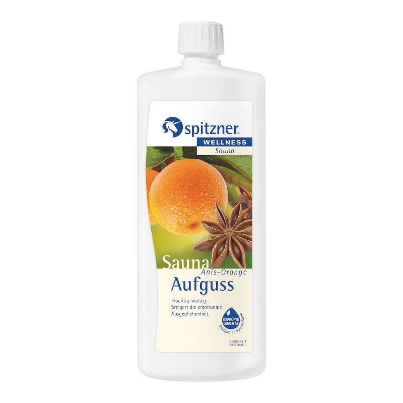 Spitzner Saunaaufguss Anis Orange 1 Liter 8850057