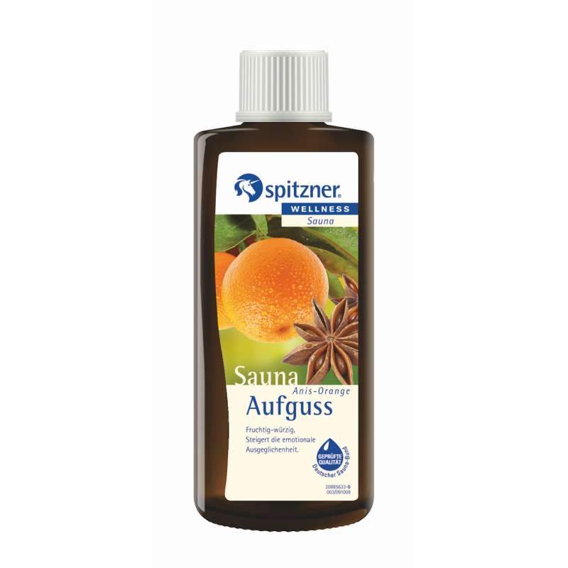 Spitzner Saunaaufguss Anis Orange 190 ml 8850056