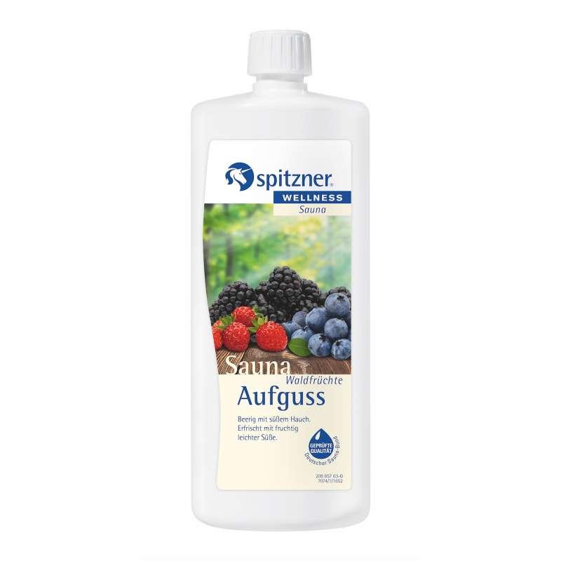 Spitzner Saunaaufguss Waldfrüchte 1 Liter (1000 ml) Wellness Konzentrat 8850105