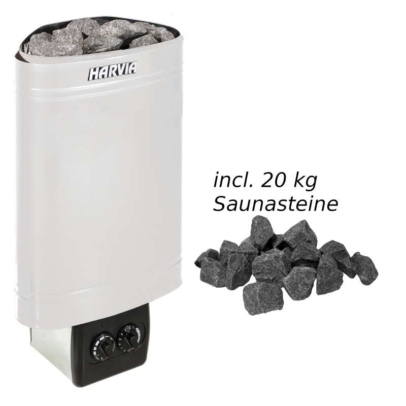 Harvia Saunaofen Delta 3,6 kW Elektroofen D36 Saunaheizung Saunaheizgerät