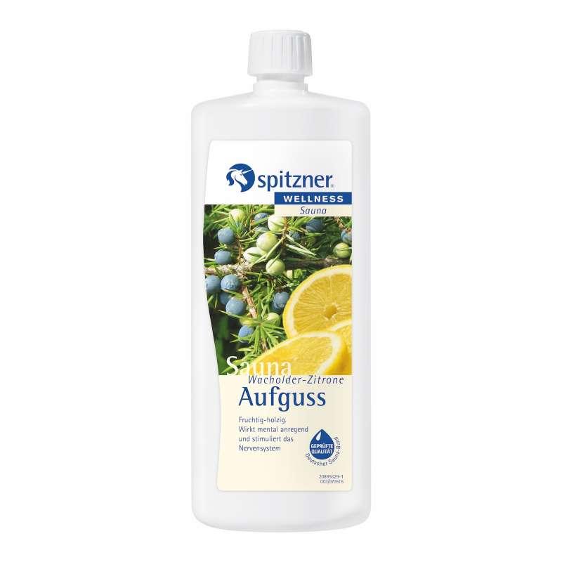 Spitzner Saunaaufguss Wacholder Zitrone 1 Liter 8850014