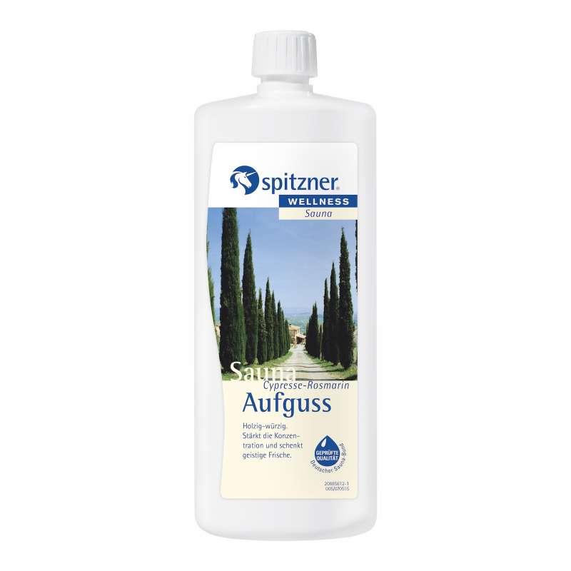 Spitzner Saunaaufguss Cypresse Rosmarin 1 Liter 8850002