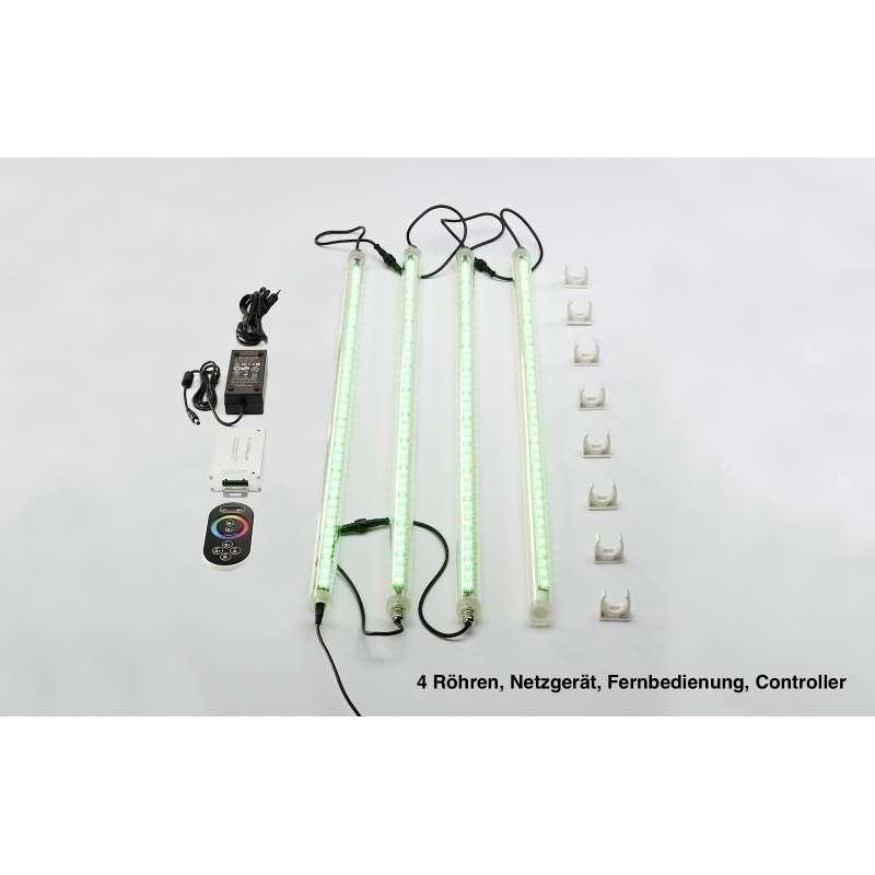 Infraworld Sphera2 LED Beleuchtung 4 Röhren - EEK: E Spektrum A++ bis E - W4413