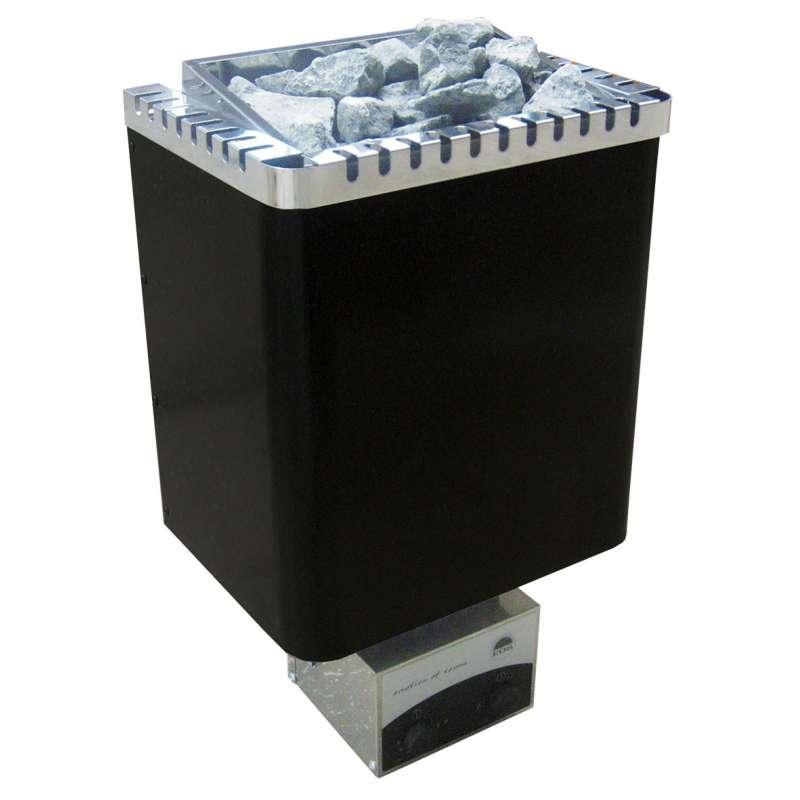 Eos Classic Saunaofen Wandofen Ecomat II Premium 9 kW schwarz glänzend 94.4878