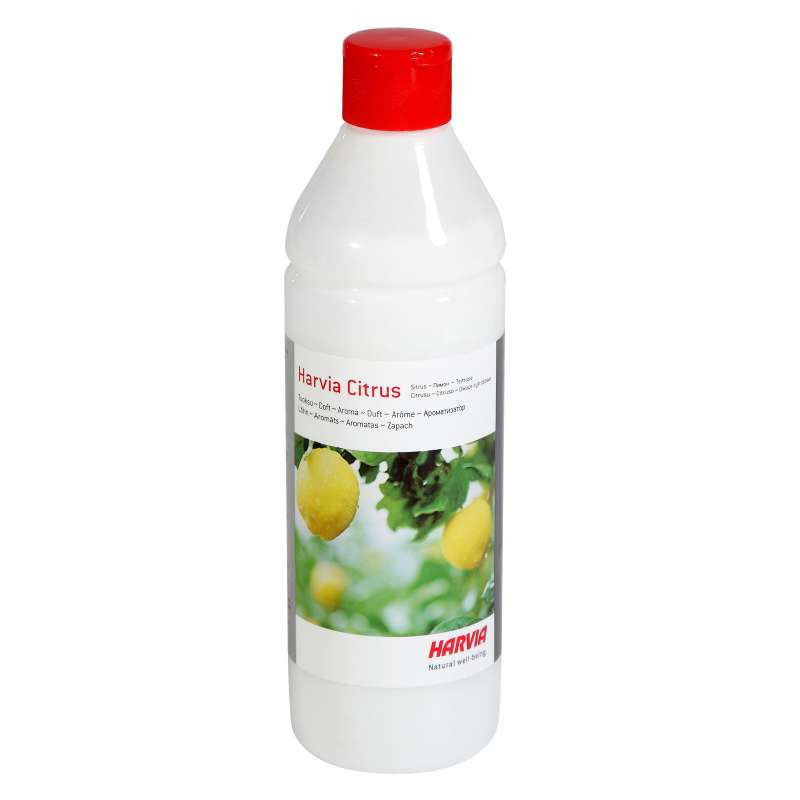 Harvia Saunaduft Citrus 500 ml Zitrone Saunaaroma Saunaaufguss Zitrus Aroma
